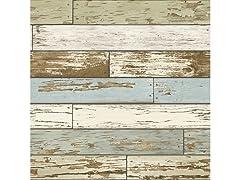 Old Salem Vintage Wood Peel & Stick Wallpaper