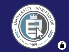 University Wikipedius Tote