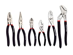 Utility Pliers Set, 6-Piece