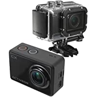 2-Pack Activeon CX 1080p Action Camera with 5MP Photo Capture Wi-Fi 2.0in LCD