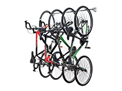 4-Bike Monkey Bars Bike Storage Rack