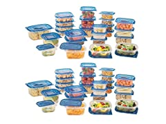 100-Piece Food Storage Container Set