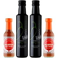 4-Pack Mias Kitchen Spicy Olive Oil & Hot Sauce