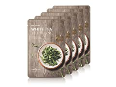 Real Nature White Tea Face Mask - 5Pack