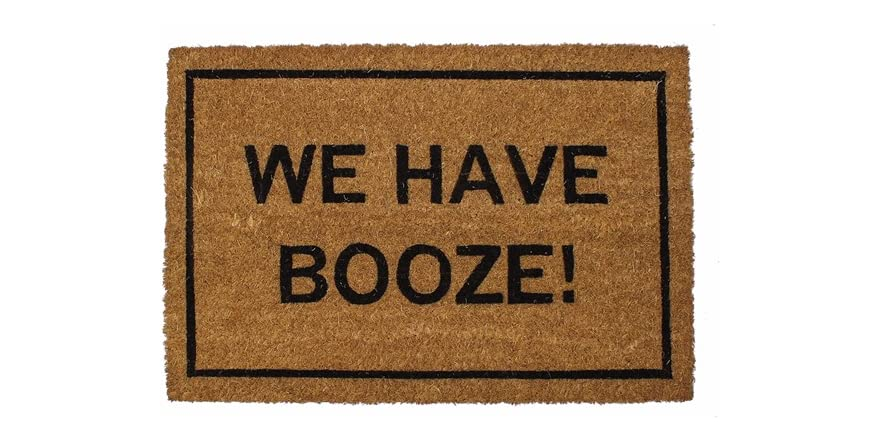 Clever doormats we have booze - Clever doormats ...