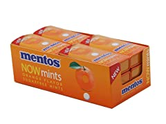 12-Pack Mentos NOWmints - Orange Flavor