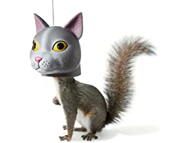 Cat Head Squirrel Feeder