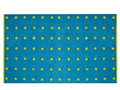 450GSM 36x70 Blue Mini Dot Towel