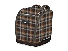 Deluxe Trapezoid Boot Bag-Mountain Plaid