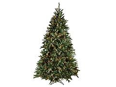 """Douglas Fir Tree 7'5"""" Prelit Multi"""