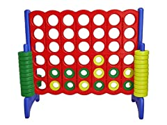 Giant 4-in-a-Row Connect Game (Open Box)