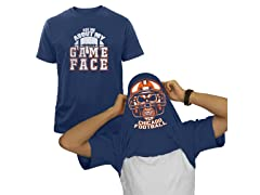 Men's Football Game Face Team T-shirts