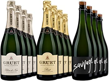 12-Pack Gruet Sparkling Mixed Wine