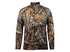 Staghorn Mens Long Sleeve Camo 1/4th Zip