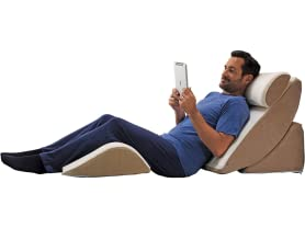 Relax the Back Adjustable Bed Wedge Pillow System
