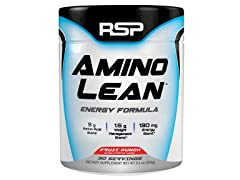 AminoLean - Amino Energy + Fat Burner, Pre Workout, Weight Loss Powder