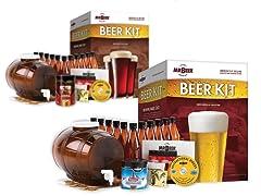 Mr. Beer Home Brewing Beer Kit - 2 Styles