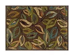 Addison  Area Rug Brn/Green - 5 Sizes