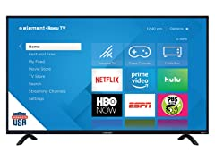 "Element 50"" 4K UHD Roku Smart TV"
