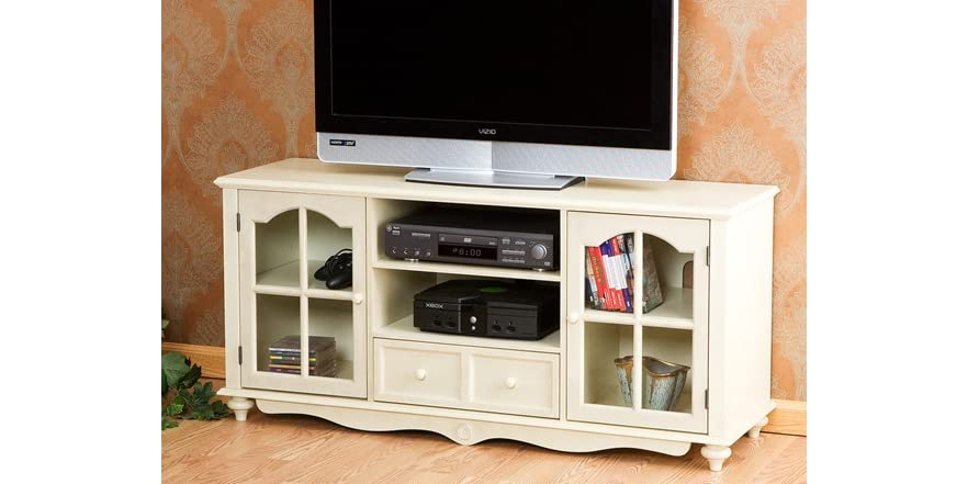 Coventry Large Tv Console Antique White