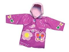 Butterfly Rain Coat