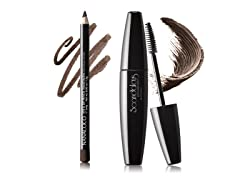 Coco Wooden Eye/Lip Pencil & Volume & Lengthen Scandalous Mascara Set