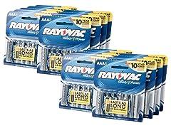 AAA Alkaline Batteries - 144 Pack