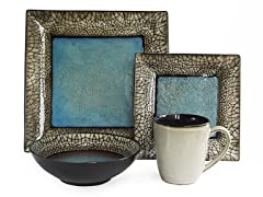 Via Roma 16Pc Dinnerware Set