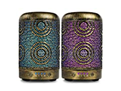 ARVIDSSON 100ml Cool Mist Essential Oil Diffuser 2PK