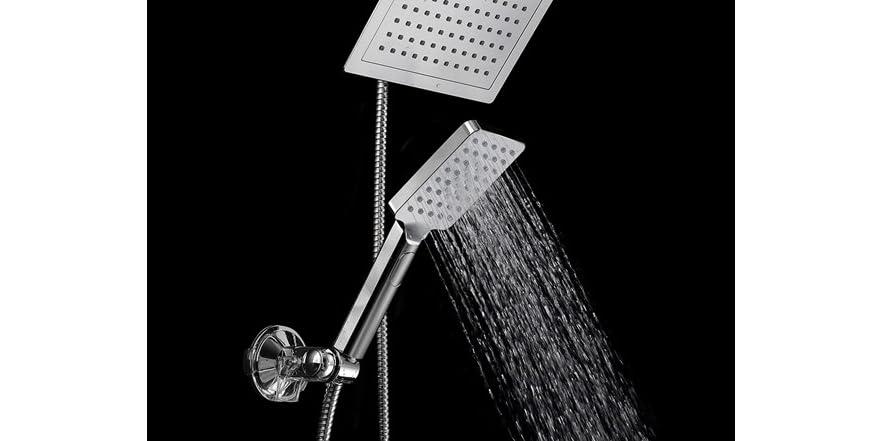 HotelSpa Luxury Rain Shower Combo W Flow Control