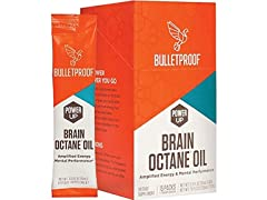 Bulletproof Brain Octane Oil Go Packs Travel Friendly