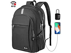 "Raydem 15.6"" RFID Business Laptop Backpack"