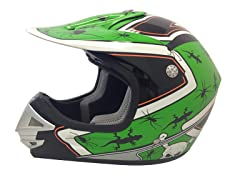 Youth Off-Road Helmet - Green