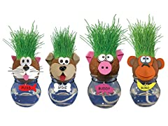 Grow-A-Head Pets 4-Pack