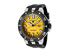 Challenger Watch, Yellow / Black