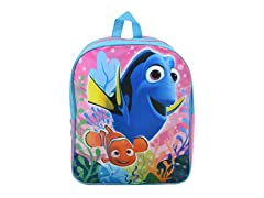 "Disney Finding Dory 15"" Plain Front Backpack"