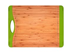 "15"" Non-Skid Cutting Board - Green"