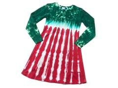 Womens Long Sleeve Dress - Peppermint