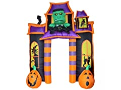 10' Frankenstein Jack 'O' Lantern Haunted House
