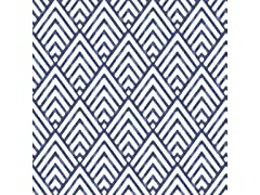 Arrowhead Deep Blue Peel & Stick Wallpaper