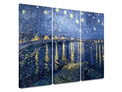 Starry Night Over Rhone 3 pc set-2 Sizes
