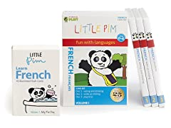 Little Pim French Vol 1- 3 Pack DVD Set and Flashcards