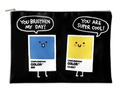 Complementary Colors Accessory Pouch