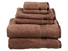 Superior 600 GSM Combed Cotton 6-Piece Towel Set