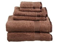 Superior 600 GSM Combed Cotton 6-Piece Towel Set