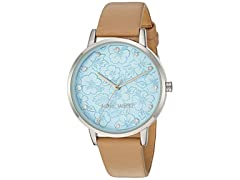 Nine West Women's Crystal Accented Watch