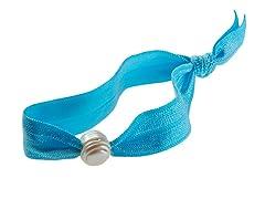 Freshwater Pearl Ties, Teal