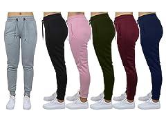 Womens Asst Jogger Lounge Pants 3PK