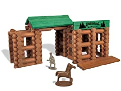 Lincoln Logs Colts Creek Command Post Set, 170pc