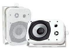 """Pyle 5.25"""" Outdoor Waterproof Speakers (Pair)"""